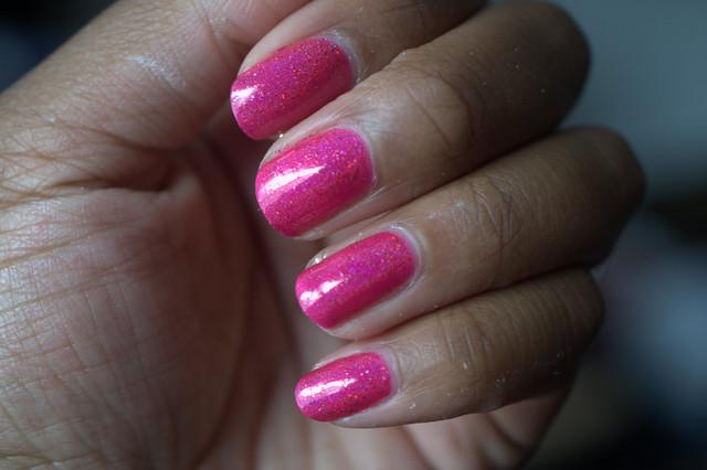 Literary Lacquers Raspberry Cordial nail polish
