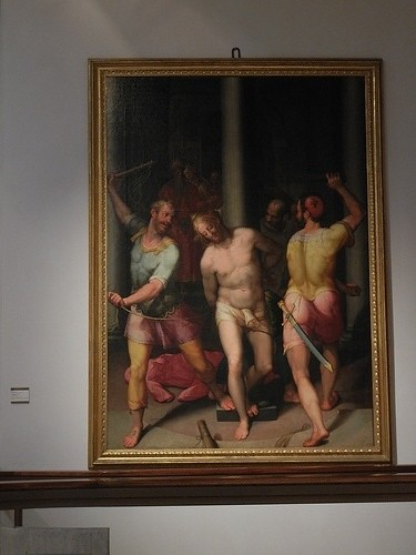 DSCN3391 _ Flagellazione di Cristo, Calvaert Denis, c1575