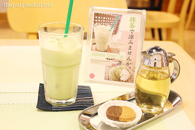 Ice Green Tea Latte (P138)