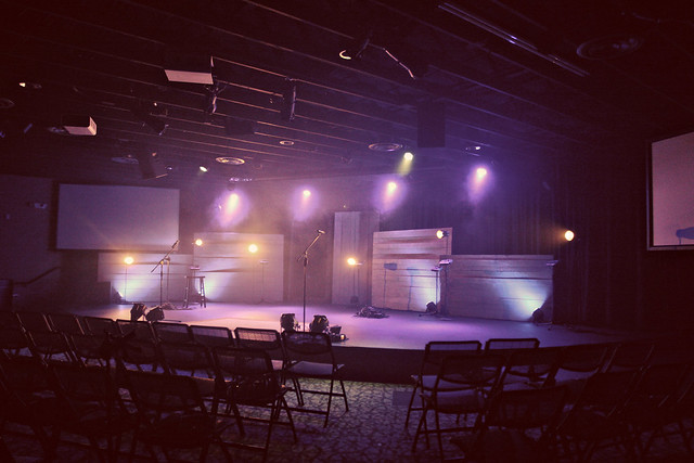 Crossroads Georgetown new stage look