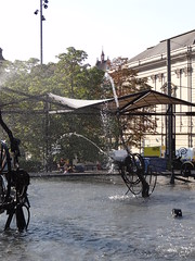 Fasnachts-Brunnen (Jean Tinguely) - Basel {augustus 2013}