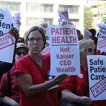Nurses And Consumer Advocates Rally Against Kaiser's $21.7 Billion In Excess Reserve