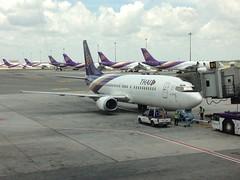 Thai Airways Boeing 737-4D7