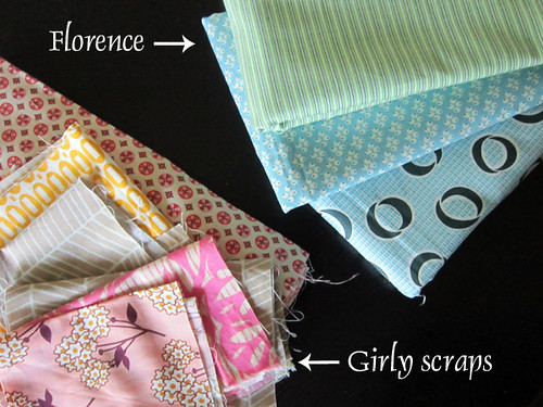 Florence & girly scraps