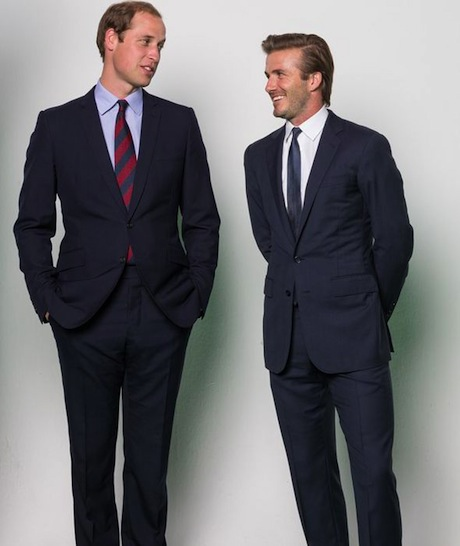 September 12th, 2013 - Prince William and David Beckham film a PSA in London for WildAid