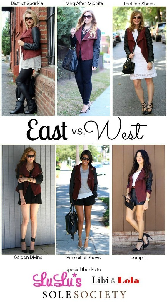 Living After Midnite: East vs. West Style: Leather