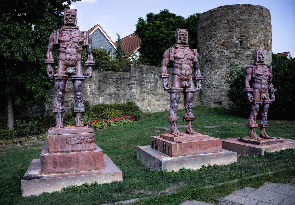 The Iron Men of Hattingen, Germany
