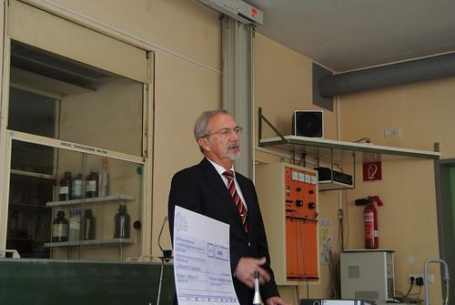 St. Paulusheim-Gymnasium Bruchsal | Förderung durch den Fonds der Chemischen Industrie