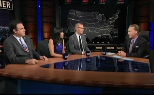 Bill Maher Leaves Tea Partier Searching For Words (VIDEO)