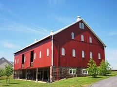 Red barn, Bishop Claggett Episcopal Retreat Center, Buckeystown, Maryland