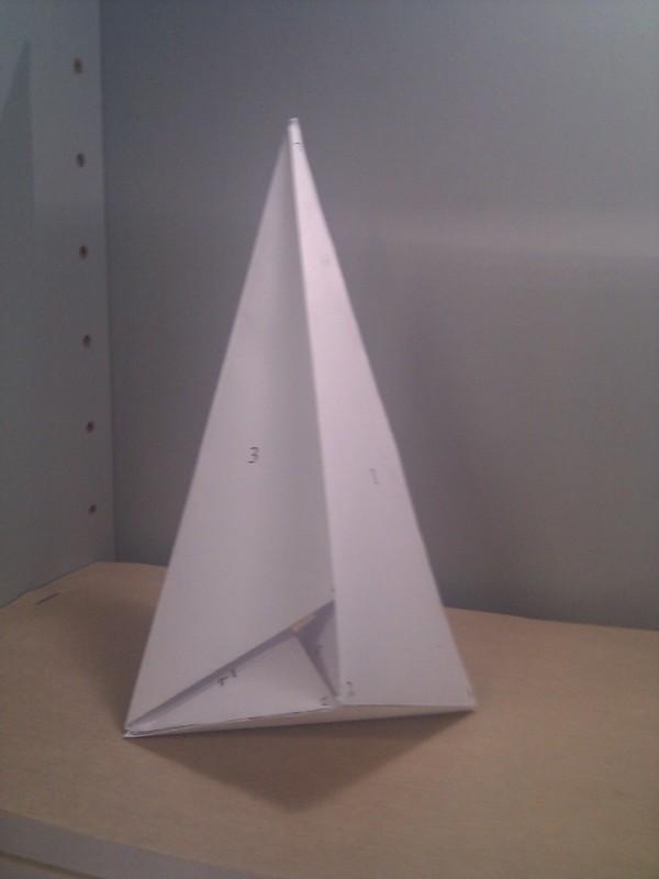 Nueva imagen del poliedro de Császár: Ángel