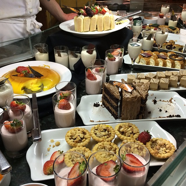 This dessert buffet should be illegal #tditour