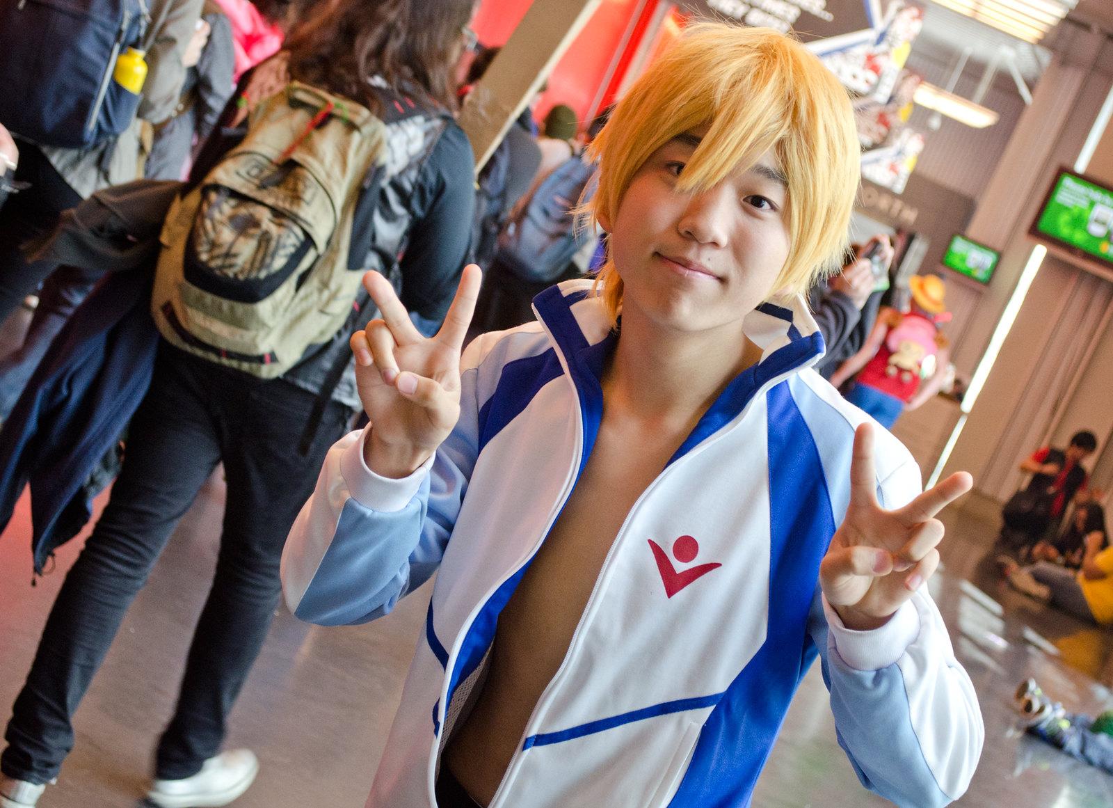 NYCC Nagisa Hazuki Cosplay