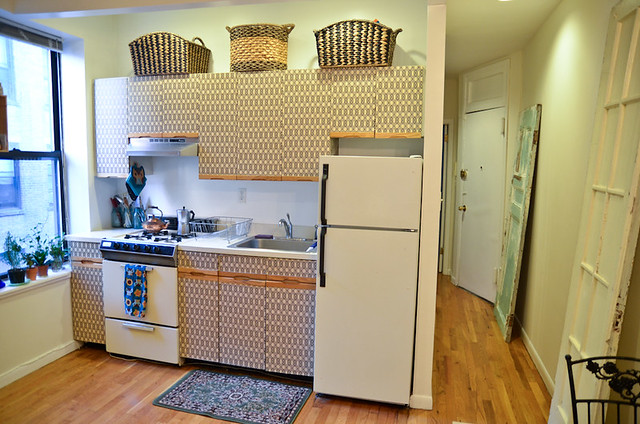 DIY Kitchen Cabinet Makeover For Renters Stars For Streetlights