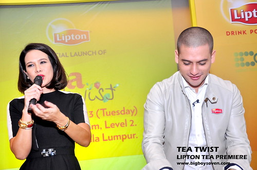 TEA TWIST Lipton Tea Premiere 4