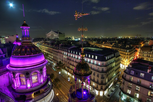 Paris from the Printemps
