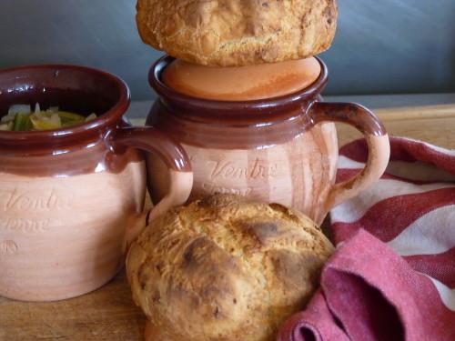 Ribolitta toscane et pains à l'ail