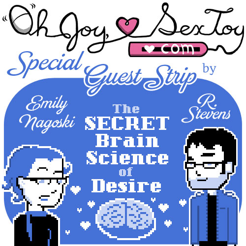 "A comic on ""the science of desire"""