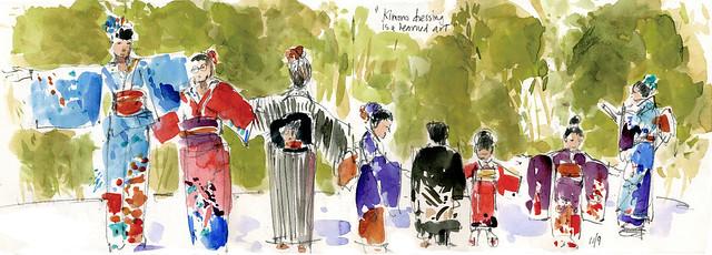 Kimono Show #1