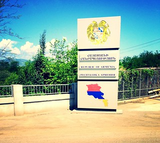 Armenian - Georgian border