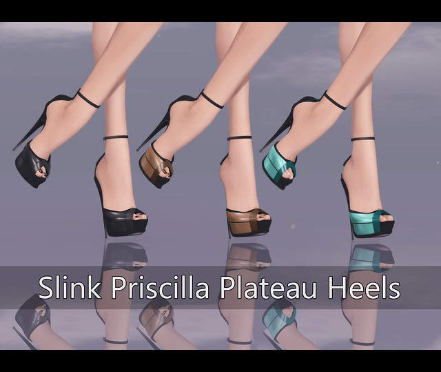 Slink Priscilla Plateau Heels for SHOETOPIA 2013