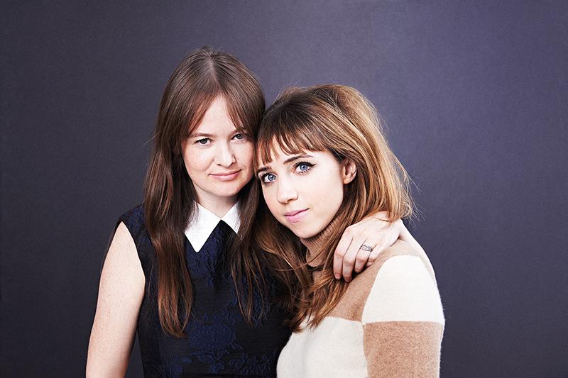 Leith x Warby Parker: Leith Clark & Zoe Kazan | www.latenightnonsense.com