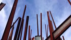 Chris Burden: Beam Drop Antwerp (2009)