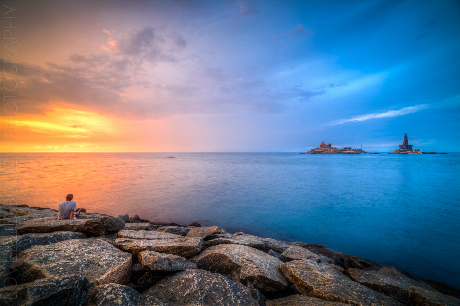 Drama & Dawn — Kanyakumari Sunrise