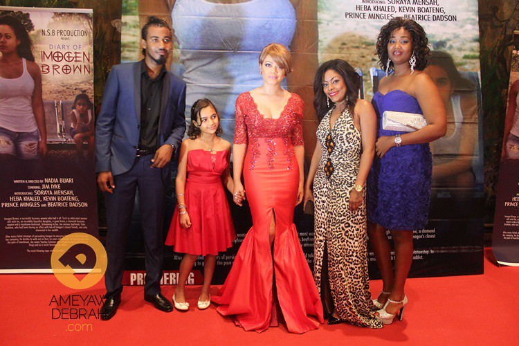 Diary of Imogen Brown premiere