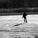 Seule dans le froid de janvier/Skating away... by bob august