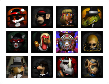 free Mugshot Madness slot game symbols