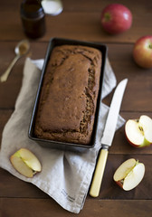 Gluten & Dairy Free Apple Loaf