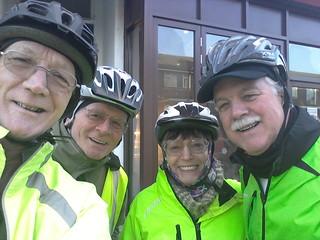 Brighton & Hove Clarion cycle ride 09-02-2014