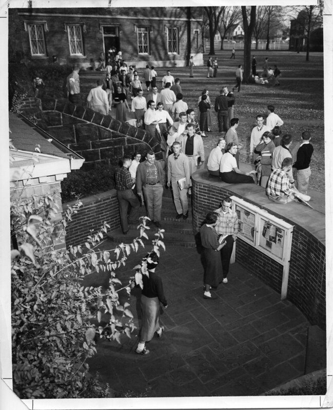 South Terrace Entrance circa 1958