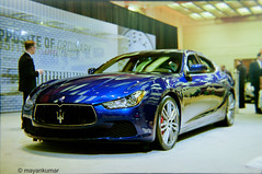 maserati granturismo(0.0), automobile(1.0), maserati(1.0), vehicle(1.0), performance car(1.0), automotive design(1.0), auto show(1.0), sedan(1.0), land vehicle(1.0), luxury vehicle(1.0), supercar(1.0), sports car(1.0),