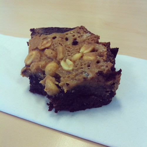 pb brownies