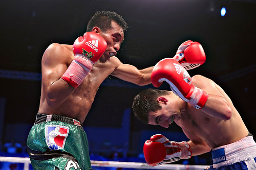 28/02/2014 MEXICO GUERREROS 2-3 RUSSIAN BOXING TEAM