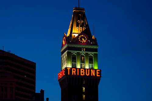 Tribune Tower, Oakland, California | by lewong2000