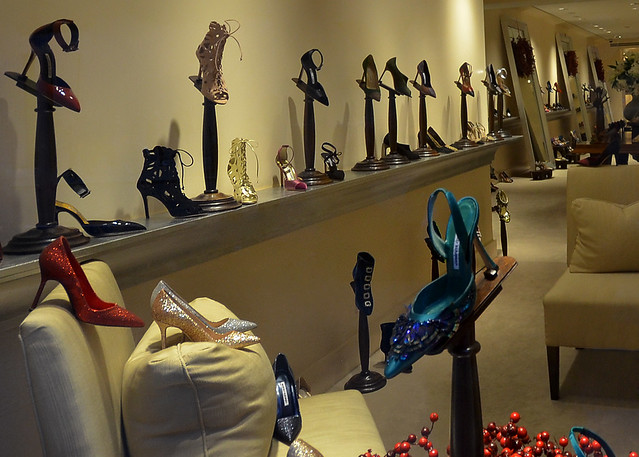 Los Manolos. Tienda de zapatos en Nueva York