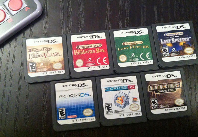 NDS games with DLC