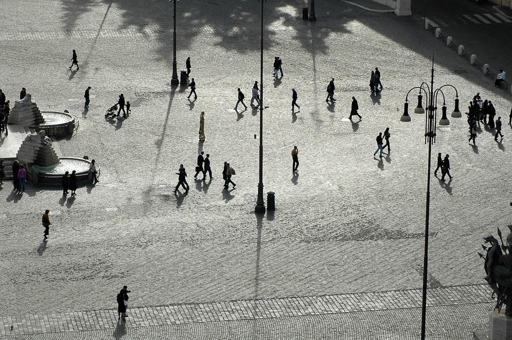 Piazza del popolo, Rome Italy, 2005