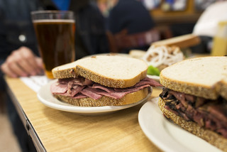 Katz's Deli - Tongue Sandwich