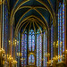 Sainte Chapelle upper chapel by MNDustyLens