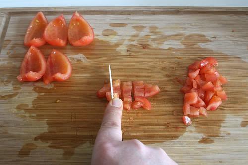 36 - Tomaten würfeln / Dice tomatoes