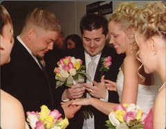 Will & Brittny showing Billy her ring