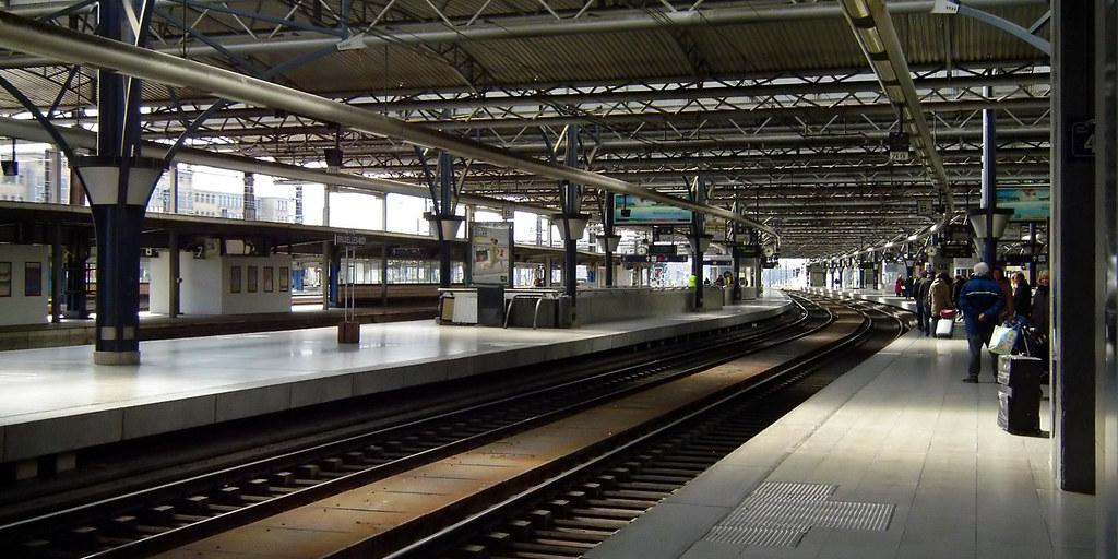 Estación Midi de Bruselas