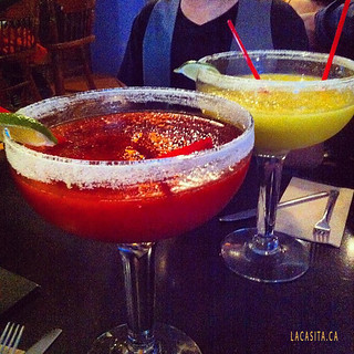 Oh my god! giant fishbowl margaritas in Vancouver BC
