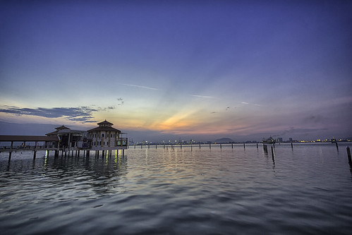 Sunrise at QE II, Penang Malaysia