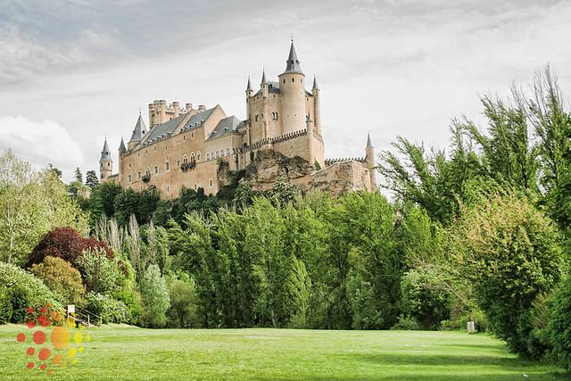 bate-voltas saindo de Madri: Segóvia