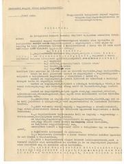 VII/7.b. Szekszárd város Polgármesterének felhívása az Ideiglenes Nemzeti Kormány 200/1945. M. E. számú rendelete alapján a zsidó vagyonok bejelentésére. 8-2-001